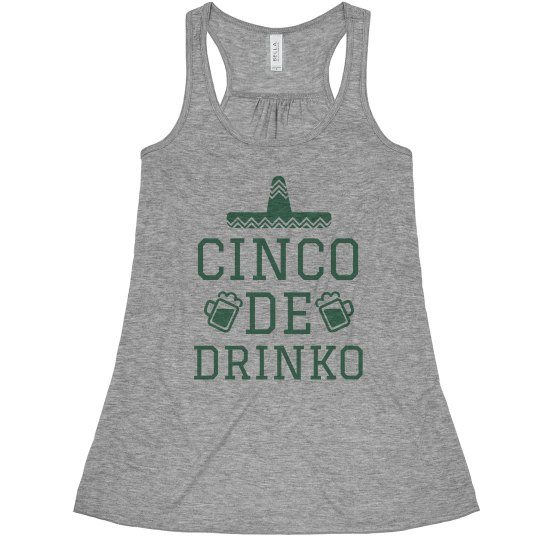 Cinco De Drinko Funny Drinking Shirt