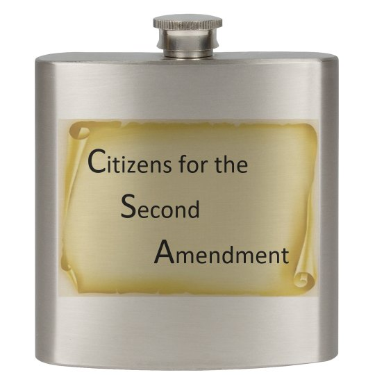 Citizens for the Second Amendment Flask