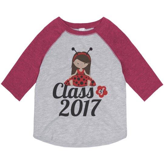 Class of 2017 Ladybug Girl