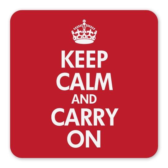Classic Keep Calm Magnet