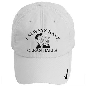 Clean Golf Balls