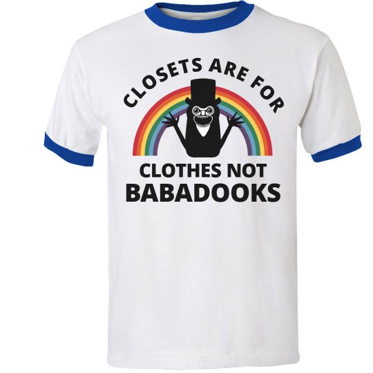 Closets Aren't For Babadooks LGBTQ