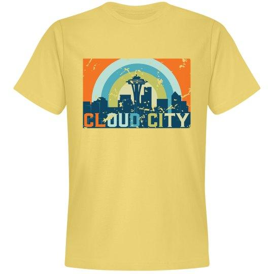 Cloud City Tee Yellow
