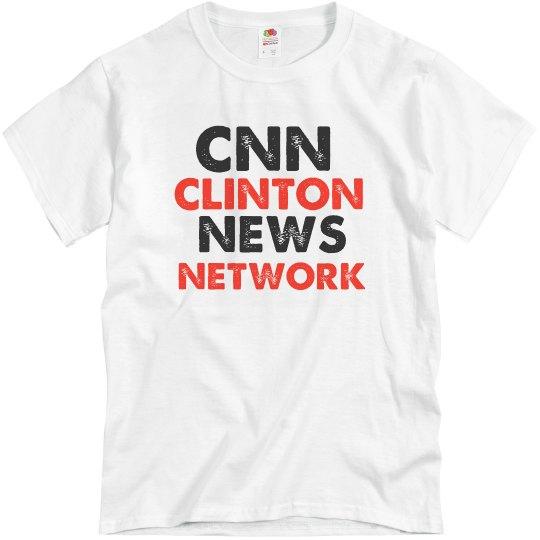 CNN Clinton News Network Mens Tshirt