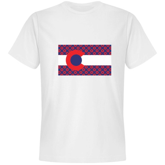 CO Flag Donuts White
