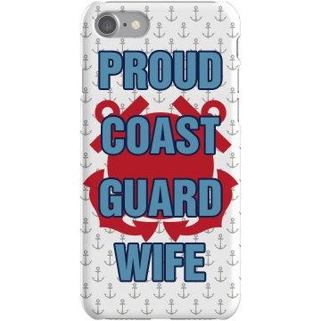Coast Guard Wife iPhone