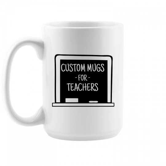 Coffe Lovers Custom Teachers Gift