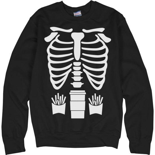 Coffee & Fries Skeleton