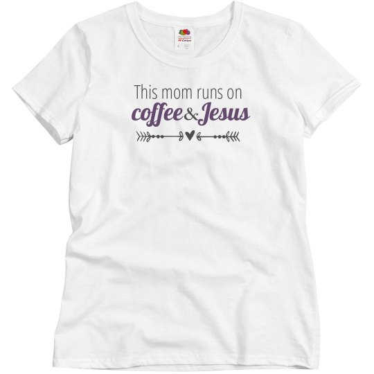 Coffee & Jesus(purple)