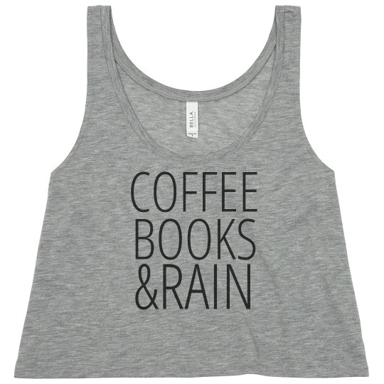 Coffee Books Rain Tank