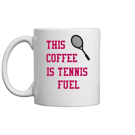 Coffee is tennis fuel