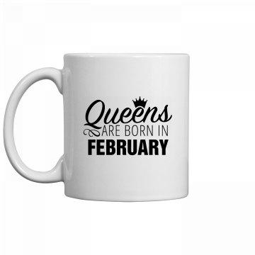 Coffee Queens Are Born In February