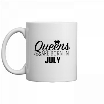 Coffee Queens Are Born In July