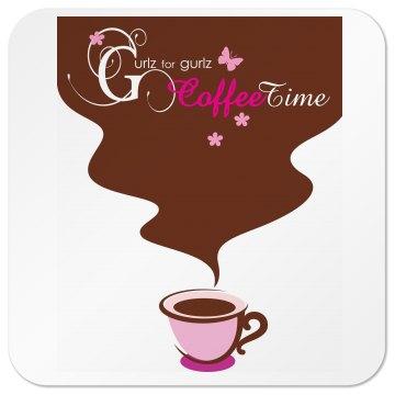Coffee-time coasters