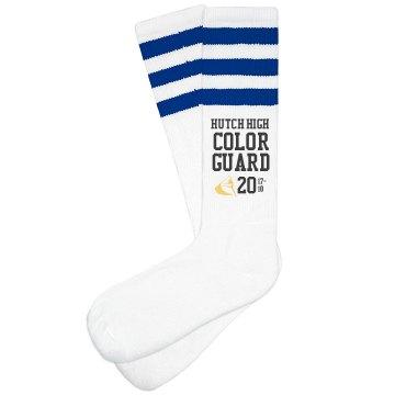 Color Guard Socks