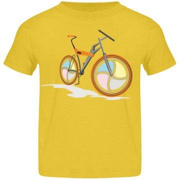 Colorful Bike Tee