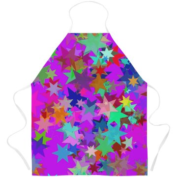 Colorful Bright Star Pattern