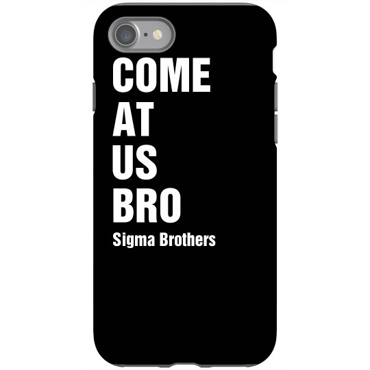 Come At Us iPhone Cover