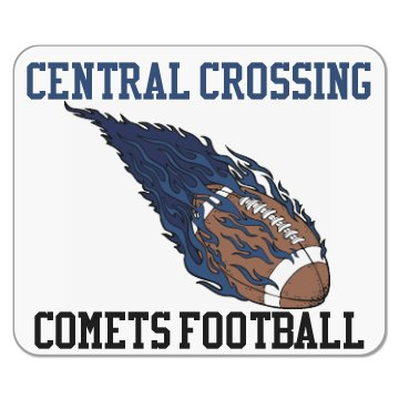 Comets Football Mouse Pad