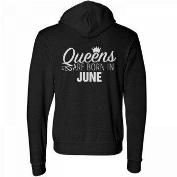 Comfy Queens Are Born In June