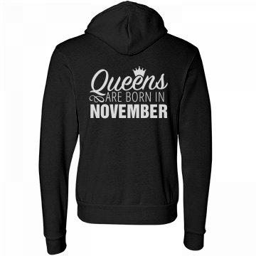 Comfy Queens Are Born In November