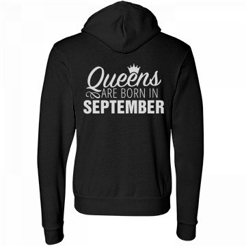 Comfy Queens Are Born In September