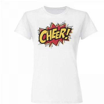 Comic Style Cheer Shirt
