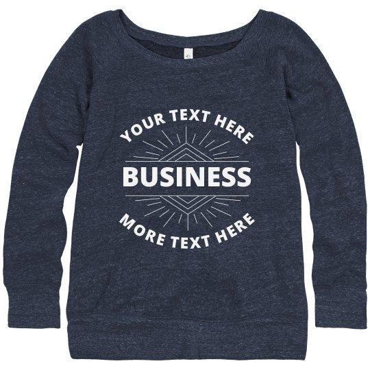 Company Sweatshirt With Group Discount