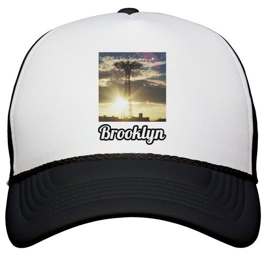 Coney Island Brooklyn Hat- Jazzy Art