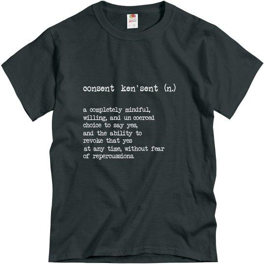 Consent Defined Unisex T-Shirt