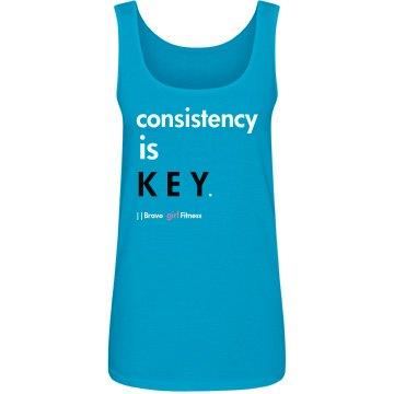 Consistency is Key Tank