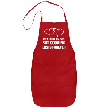 Cooking Lasts Apron