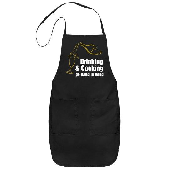 Cooking Saying Apron