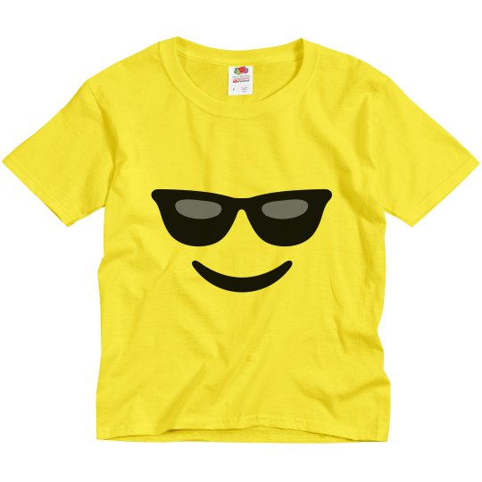 Cool Emoji Kids Halloween Costume