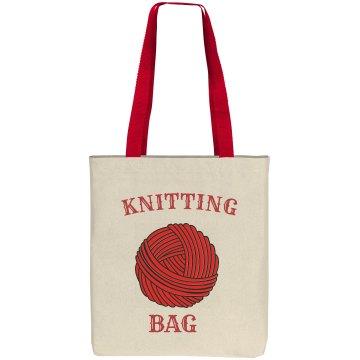 Cool Knitting Bag