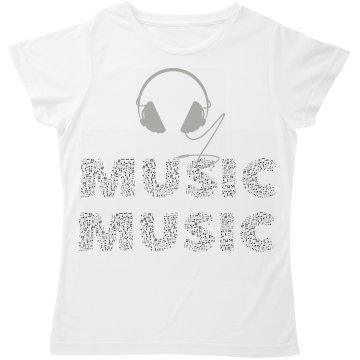 cool Music Tee Shirt