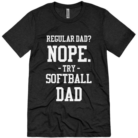 Cool Softball Dad