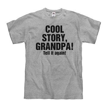 Cool Story, Grandpa