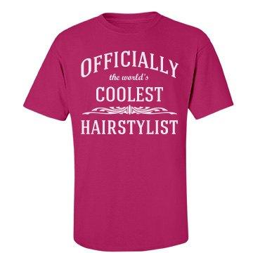 Coolest hairstylist