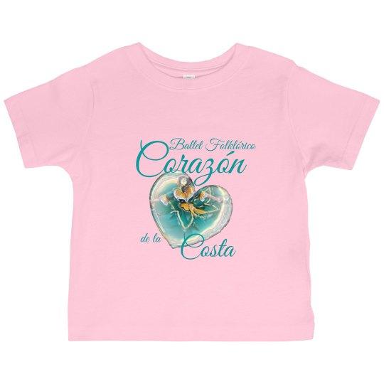 Corazon toddler shirt