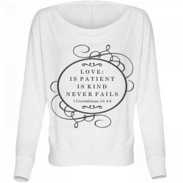 Corinthians Love Verse