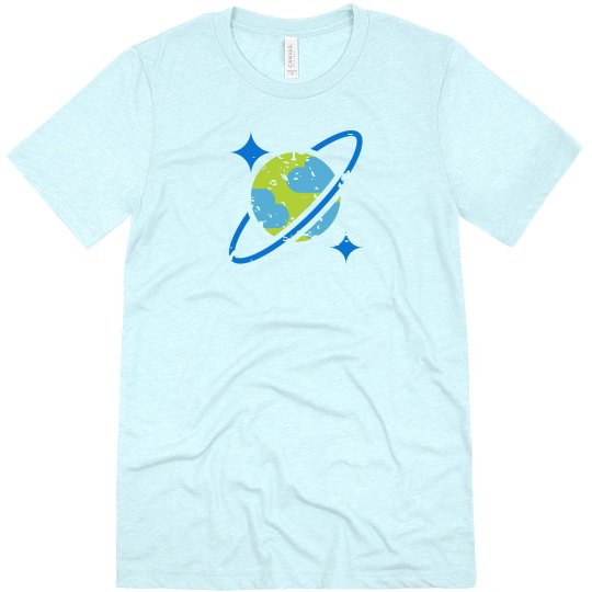 Cosmos DB Tee Ice Blue Triblend