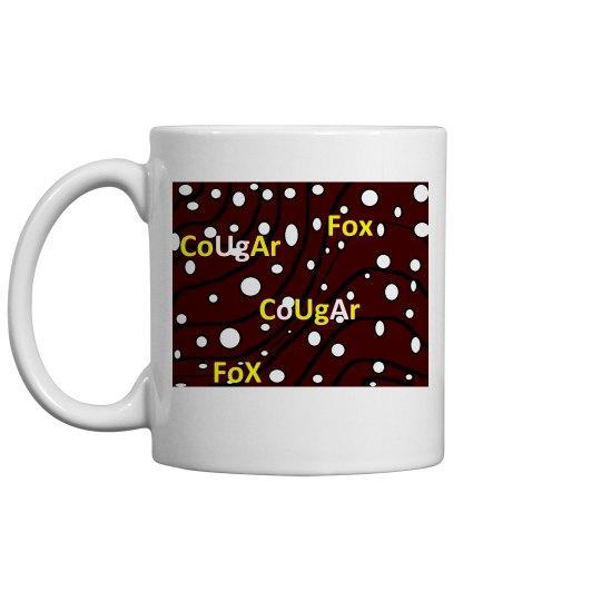 Cougar Fox mug