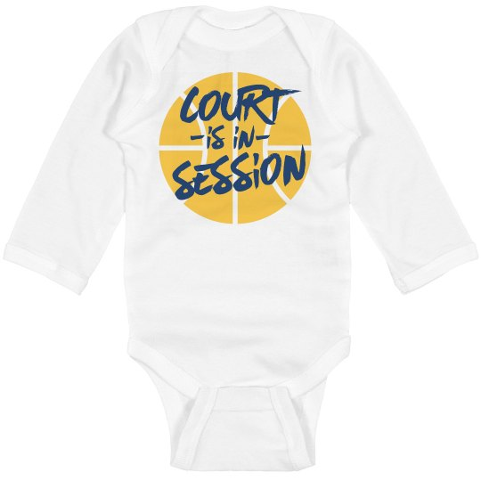 Court Is In Session infant