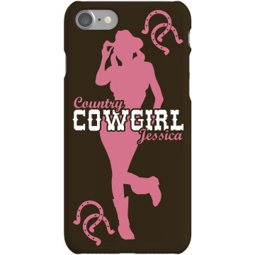 Cowgirl Jessica iPhone