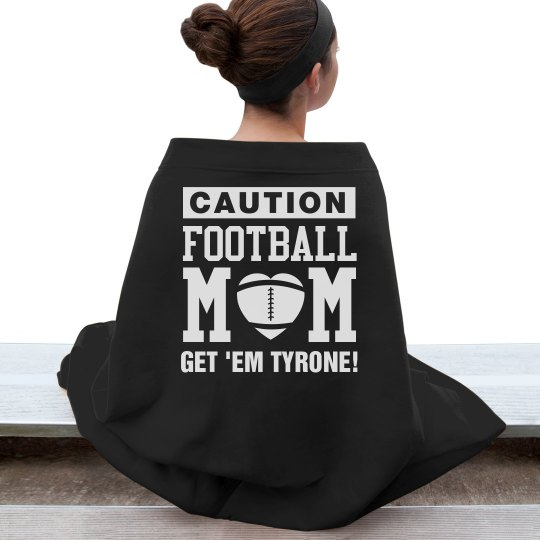 Cozy & Warm Football Mom Custom Blankets