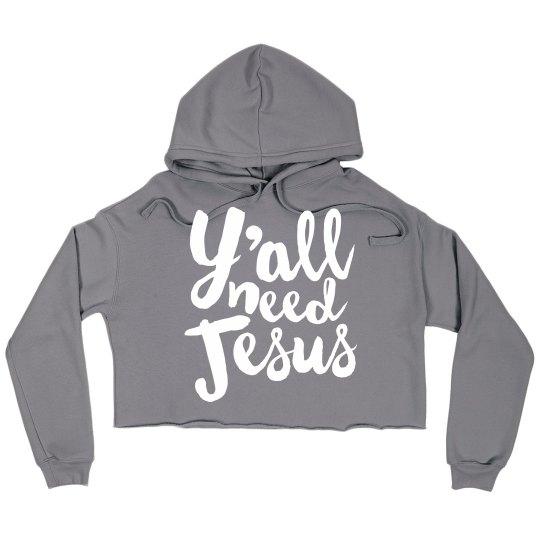 Cozy Comfy Y'all Need Jesus