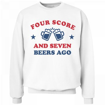 Cozy Four Score And Seven Beers Ago
