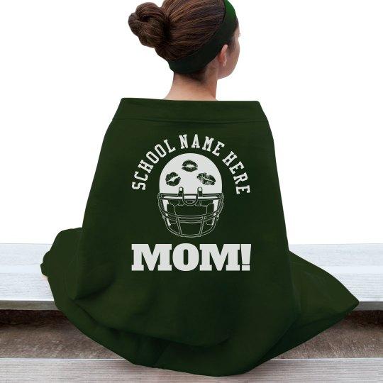 Cozy Friday Night Football Mom Blanket