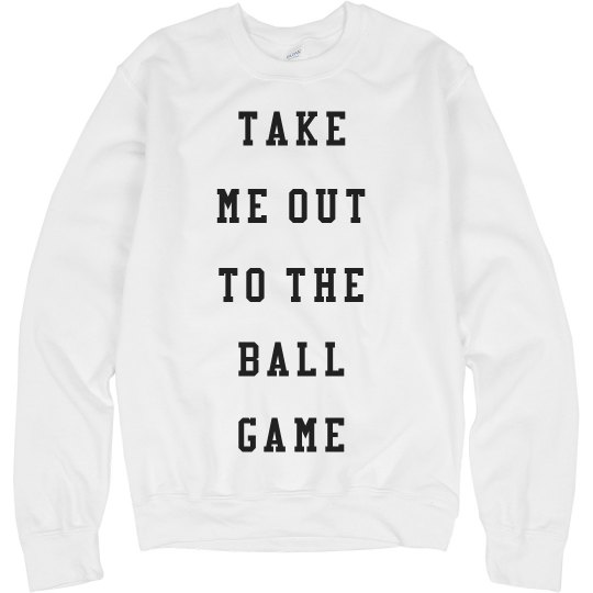 Cozy Out To The Ball Game